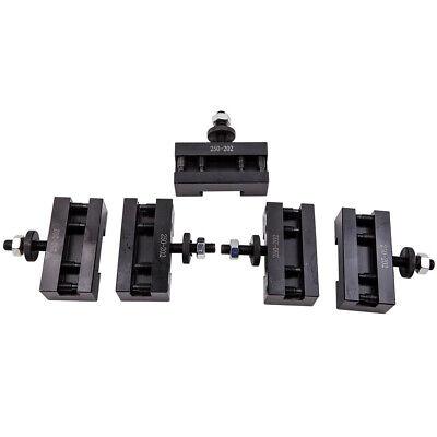5pcs 10-15 Bxa 1 Quick Change Turning Facing Boring Tool Post Holder 250-202