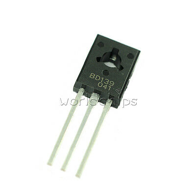 10pcs Bd139 Transistor Npn 1.5a 80v To126