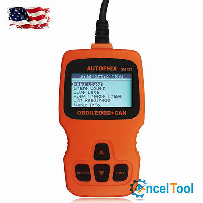 OM123 OBD MATE OBDII Car Vehicle Engine Code Reader Auto Diagnostic Scan Tool