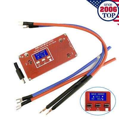 New Diy Portable Mini Spot Welder Machine 18650 Battery Welding Power Supply Us