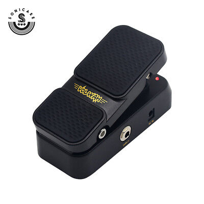 Sonicake Wah Active Volume Footswitch Guitar Effects Pedal QEP-1