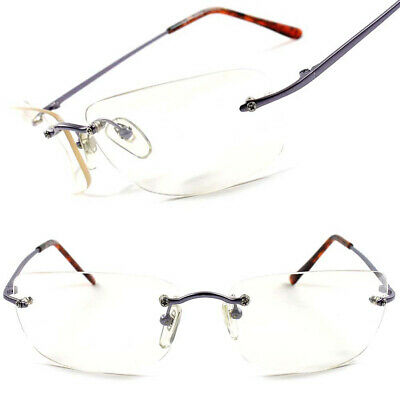 Modern Stylish Rimless Mens Womens Rectangle Light Tinted Wrap 90s Sun (Lightly Tinted Sunglasses)