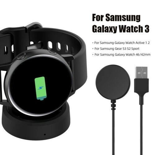 Wireless Fast Charger Dock For Samsung Gear S3/S2 Galaxy Watch active 2 Watch 3