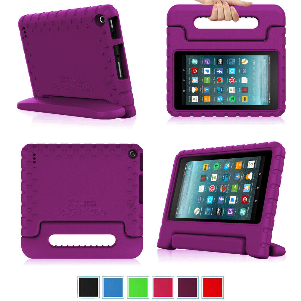 For Amazon Fire 7 2019 / HD 8 2018 / HD 10 2017 Tablet Case