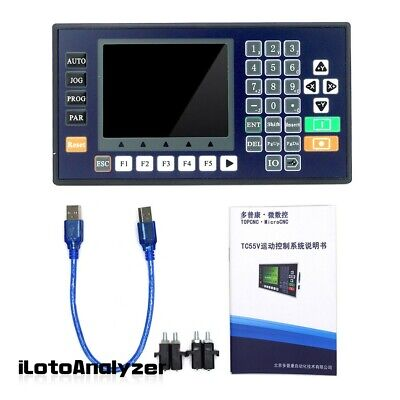 3 Axis Cnc Controller Motion W Color Lcd For Cnc Router Servo Stepper Motor