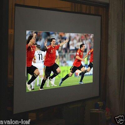 Grand Ecran de Projection HD 260 x 147 Cm 120 Pouces 16:9 Toile Projection