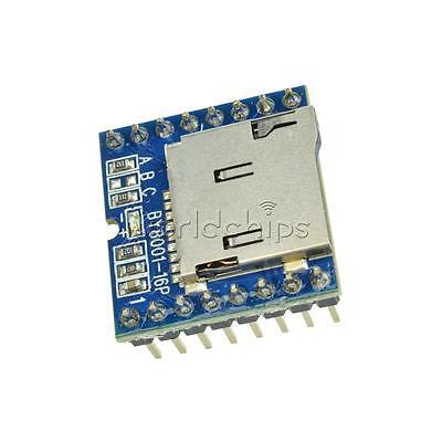 Tf Micro Sd U-disk By8001-16p Mp3 Player Arduino Audio Voice Module Board