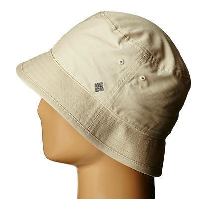 Columbia Cotton Hat - Columbia Adult Bucket Cotton Poplin Hat, S/M Biege - Soft & Lightweight - NWT!