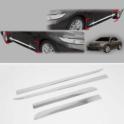 Chrome Side Skirt Accent Garnish Molding B766 For 2012-2014 TOYOTA Camry Hybrid