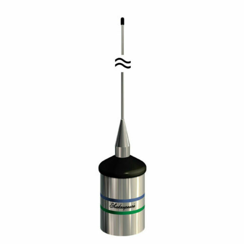 Shakespeare 5241-R 3ft / 36 inch Low-Profile VHF Boat Antenna Heavy Duty Whip