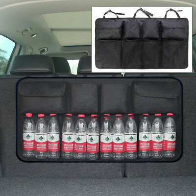 Multifunction Mesh Pocket Hanging Boot Car Back Seat Tidy Storage Organiser New