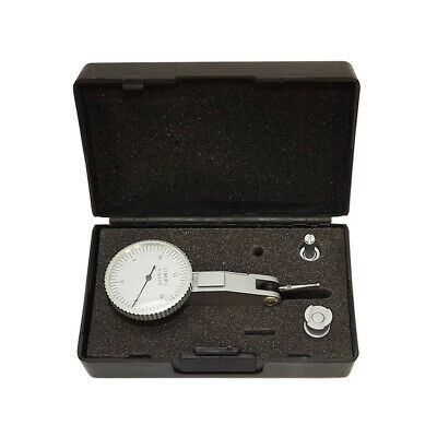 Dial Test Indicator Graduation .0005 Set Reading 0-15-0 7 Jewels White Face