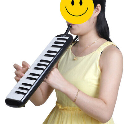 32 Key Melodica Finger Piano Keyboard Education Musical instrument W/ Mouthpiece