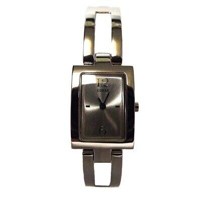 Guess Women's U65005L1 Silver Stainless-Steel Quartz Watch NEW