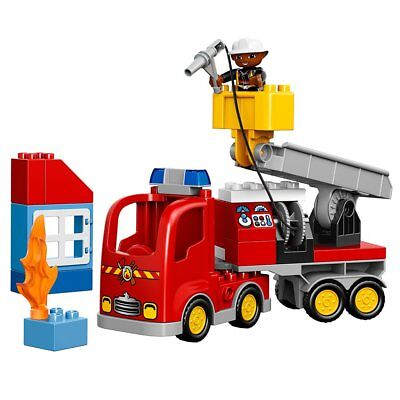 LEGO Duplo Town 10592 Fire Truck Building Kit Best Chrismas Toy Gift For