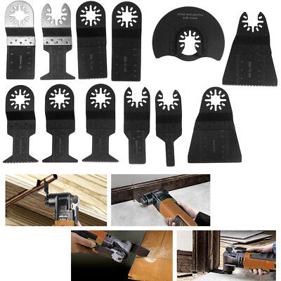 12x Universal Oscillating Saw Blade Multi Tool For Bosch Fein Multimaster Makita