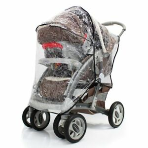 Raincover Zipped For Graco Quattro Tour Sport Travel System