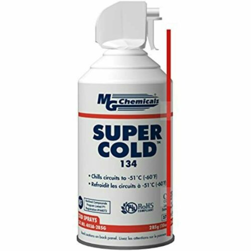 403A 134A Super Cold Spray 285G 10 OZ Aerosol Can Ounces MG Chemicals