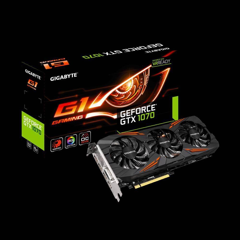 Nvidia GTX1070 G1 Gaming Edition