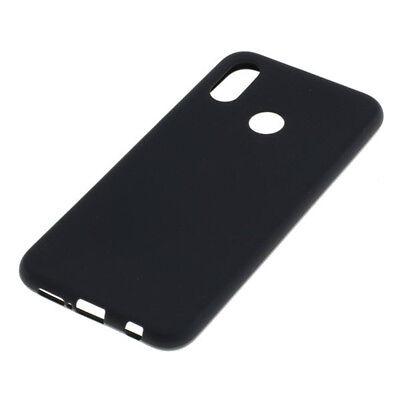 Silicon Hülle (Silicon Case TPU Hülle Schutz für Huawei P20 Lite - schwarz)