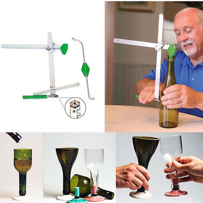 Profi Bottle Flasche Cutter Glassschneider Glasscutter 6 Schneidräder - GER