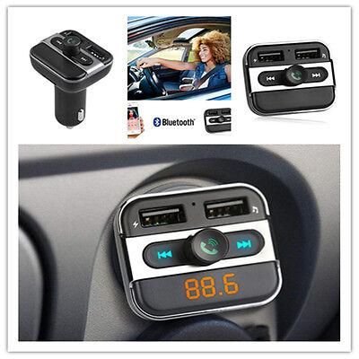 Bluetooth FM Transmitter USB Stick KFZ SD AUX Freisprechanlage Auto MP3 Player
