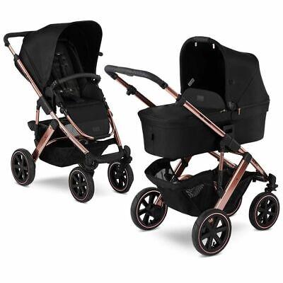 ABC Design Salsa 4 Air Pushchair & Carrycot - Rose Gold