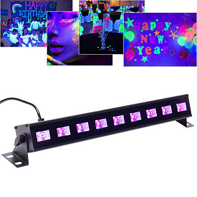 27W UV Light Black Light Wall Wash Stage Light for Party Halloween Haunted - Cheap Black Lights For Parties