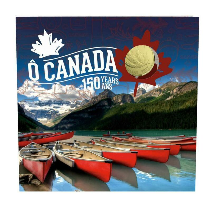 2017 Royal Canadian Mint 150 Years O Canada Gift Set
