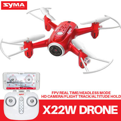 Syma X22W 2.4G FPV Real Time RC Drone with WIFI HD Camera Altitude Hold Headless