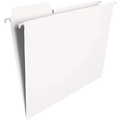 Smead Fastab Hanging File Folder 13-cut Built-in Tab Letter Size White 20