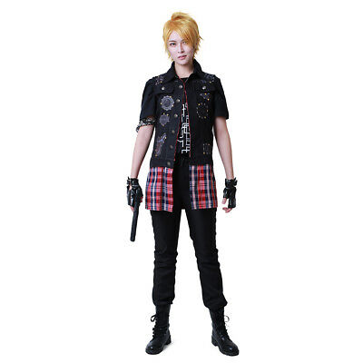 Final Fantasy XV Prompto Argentum Cosplay Costume Men Halloween Outfit