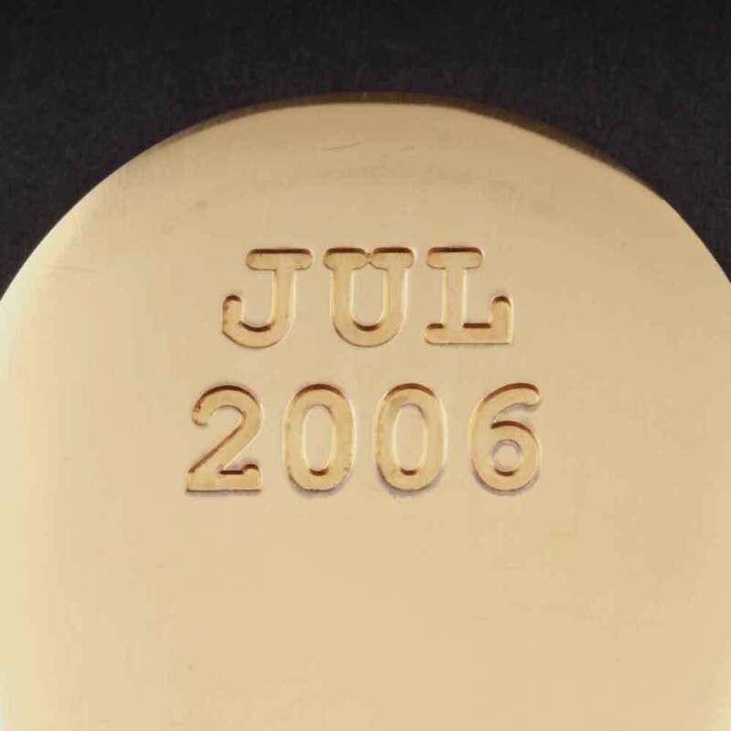 Georg Jensen Christmas Spoon 2006. Gilded Sterling Silver. Kim Buck. VERY RARE