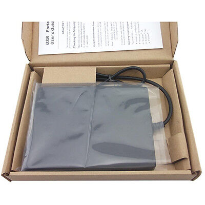 как выглядит Дисковод для гибкого магнитного диска (дискеты) External USB Slim 1.44MB Floppy Disk Diskette Drive Laptop PC Notebook Portable фото