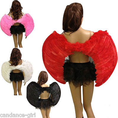 Classic Gothic Fallen Angel Devil Wings Fancy Halloween Dressed Costume 35*40cm
