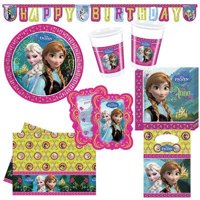 Disney Frozen Alpine Kindergeburtstag Auswahl Deko Party Dekoration Geburtstag ()
