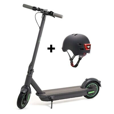 Pack Patinete eléctrico You- Go XL Youin con casco negro Envío España