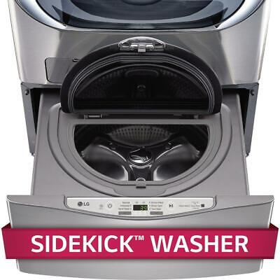 """LG WD100CV - (27"""" W x 14"""" H) Graphite Pedestal w/ Built-In 1.0 Cu Ft Washer for sale  Shipping to Nigeria"""