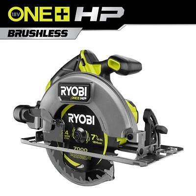 RYOBI ONE+ HP 18V Brushless Cordless 7-1/4 in. Circular Saw (Tool Only)