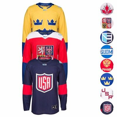 2016 Nhl Adidas  World Cup Of Hockey  Premier Team Jersey Collection Mens