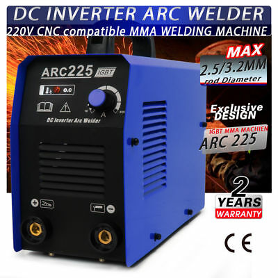 Welder Welding Machine No-gas Arc 200a Portable Welders Arc225 Accessories