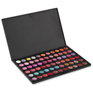 LaRoc 66 Colour Lip Gloss Palette Makeup Lipstick Kit Set - Various Shades