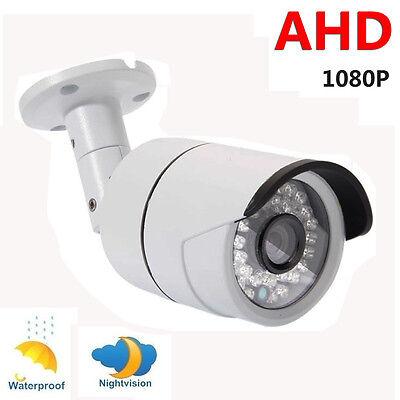 CCTV 1080P AHD Camera 2.0MP HD Analog Outdoor Security 36LED Night Vision Metal