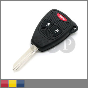 remote key case shell for chrysler dodge town country pt cruiser replacement ebay. Black Bedroom Furniture Sets. Home Design Ideas