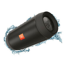 JBL Charge 2+ Splashproof Portable Wireless Bluetooth Speaker in Black
