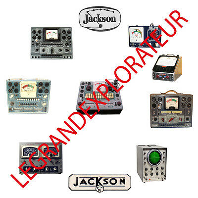 Ultimate Jackson Tube Tester Owner Service Manual Schematics Chart Pdf On Dvd