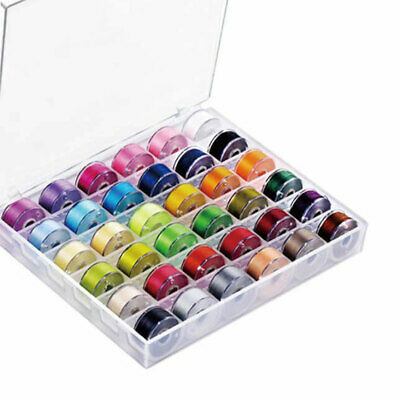 Bobbin Thread With Storage Case For Brother Embroidery Thread Sewing Machine DIY