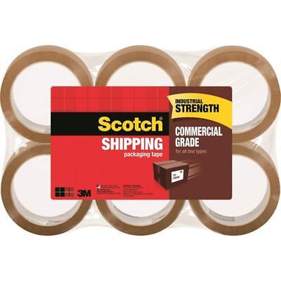 3750t-6 3m Scotch Commercial Grade Shipping Packaging Tape Tan 6 Pack