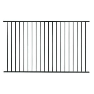 Garden, Boundary or Pool Fence Aluminium Black Fencing 1200x2400mm Wacol Brisbane South West Preview