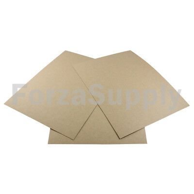 "200 8.5x11 ""EcoSwift"" Chipboard Cardboard Craft Scrapbook Scrapbooking Sheets"